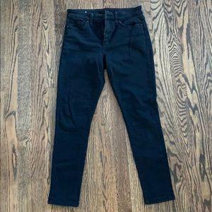 Joes black skinny jeans